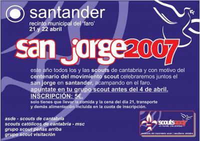 San Jorge 2007: Construyendo un mundo mejor