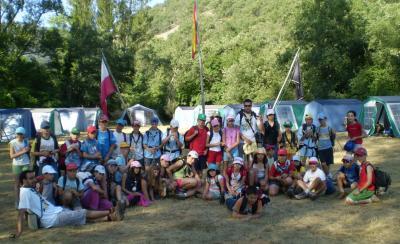 Finalizó con gran éxito de participación el Campamento Cachón 31