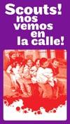 Sábado 20: Los Scouts cachoneros salen a la calle