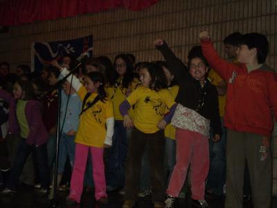 Premio a la mejor coreografía en el V Festival Solidario de la Canción Scout