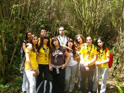 Gran éxito de la acampada en Solórzano