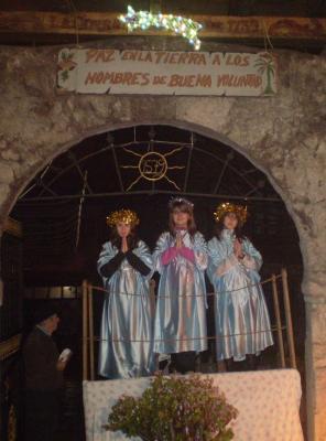 Gran exito de la Cabalgata de Reyes 2009 de Maliaño-Muriedas