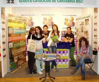 El Grupo Scout Cachón de Maliaño  en Candinamia