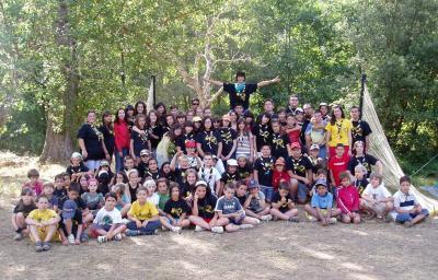 Exito de participación del Campamento Cachón 33
