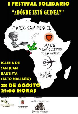 I Festival Solidario ¿Dónde está Guinea?