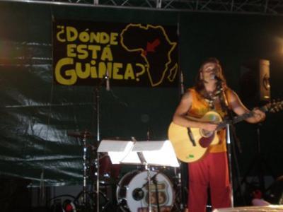 Mucha participación en el I Festival Solidario ¿Dónde está Guinea?