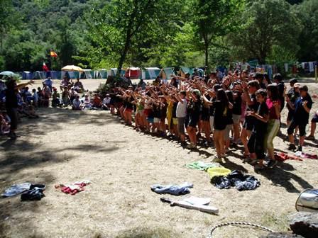 Día de la familia en el Campamento Cachón 34